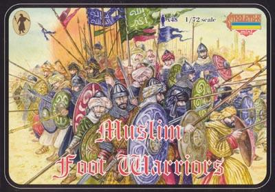 M013 - Muslim Foot Warriors 1/72