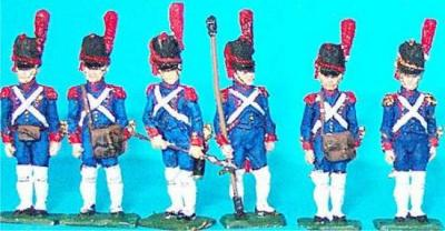 JS72/0235 - Artilleurs à pied de la Garde (grand uniforme) 1/72