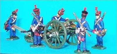 JS72/0243 - Artillerie à pied de la ligne canon de 12 (Gribeauval) 1/72