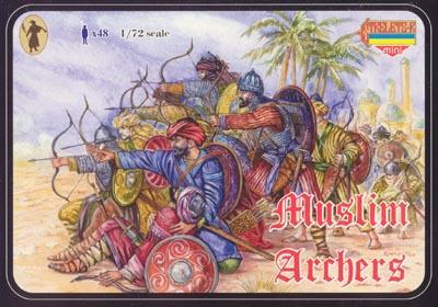 M014 - Muslim Archers 1/72