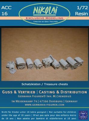 NIK-ACC 16 treasure boxes 1/72