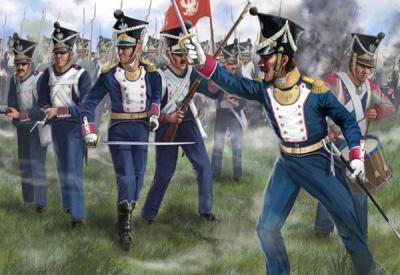 144 - Polish Infantry in Attack 1/72