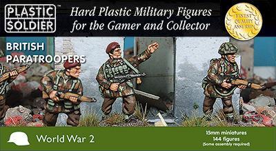 WW2015015 - British Patatroopers 15mm