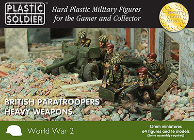 WW2015016 - British Patatroopers Heavy Weapons 15mm