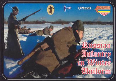 M017 - Russian Infantry in Winter Uniform 1/72