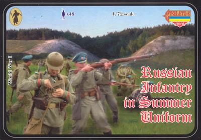 M018 - Russian Infantry in Summer Uniform 1/72