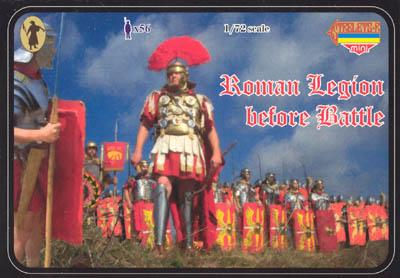 M019 - Roman Legion before Battle 1/72
