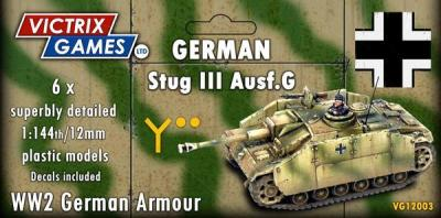 VG12003 VICTRIX GAMES - GERMAN STUG 111- DUE SOON