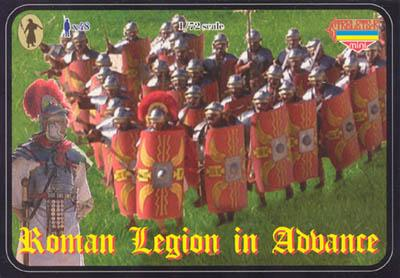 M020 - Roman Legion in Advance 1/72