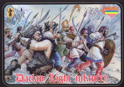 M022 - Dacian Light Infantry 1/72