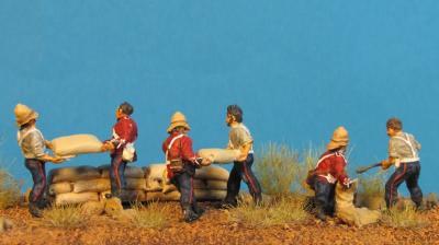 GF 72-8502 Infanterie Anglaise se barricadant 1/72