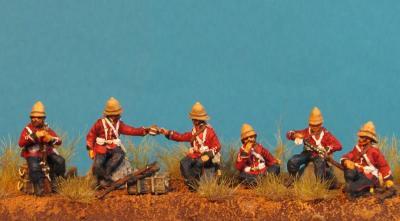 GF 72-8501 Infanterie Anglaise faisant une pause 1/72