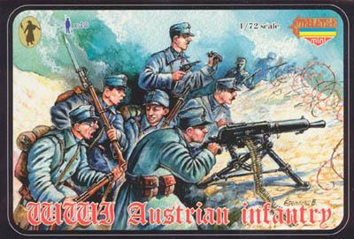 M024 - WWI Austrian Infantry 1/72