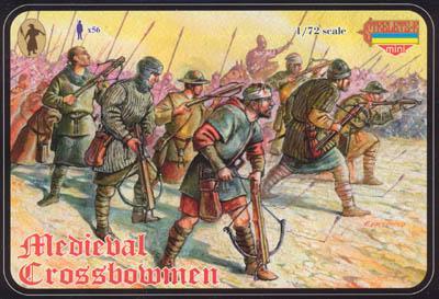 M025 - Medieval Crossbowmen 1/72