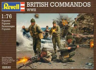 2530 - British Commandos 1/76