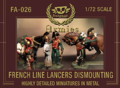 FA-026 - French Line Lancers 1/72