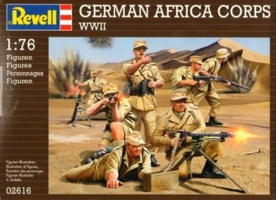 2616 - German Afrika Korps 1/76