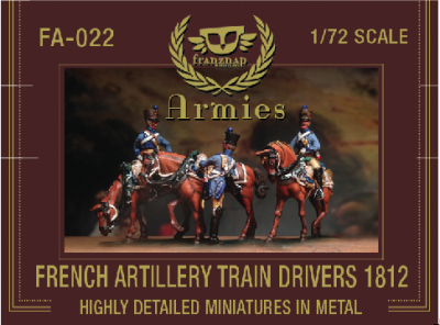 FA-022 - French Artillery Train Drivers 1812 1/72