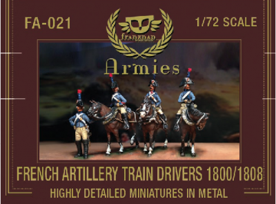 FA-021 - French Artillery Train Drivers 1800-1808 1/72