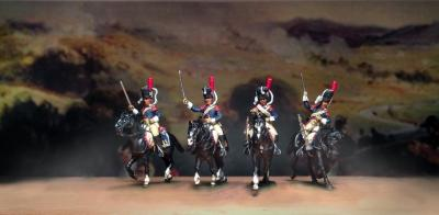 FA-027 - French Carabiners 1806 Troopers 1/72