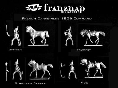 FA-028 - French Carabiners 1806 Command 1/72
