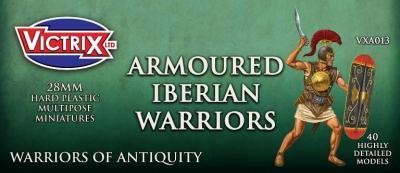 VXA013 28mm Ancient Spanish armoured Warriors