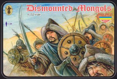 M028 - Dismounted Mongols 1/72