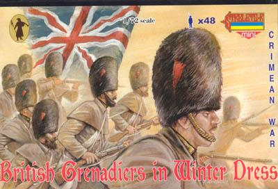 M029 - British Grenadiers in Winter Dress 1/72