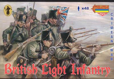 M030 - British Light Infantry 1/72