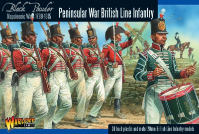 302011003 NAP BRITISH LINE INFANTRY -PENINSULAR  1/56 28MM