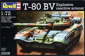 3106 - Russian T-80BV Explosive Reactive Arm 1/72