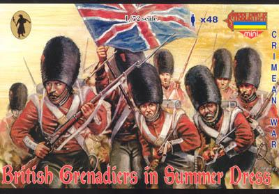 M032 - British Grenadiers in Summer Dress 1/72