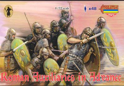 M034 - Roman Auxiliaries Advancing 1/72