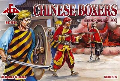 72035 - Boxer Rebellion Chinese Boxers 1/72