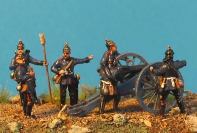 GF 72-6102 prussian artillerie 1870/71 - Franco-Prussian War 1/72