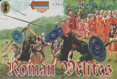 M037 - Roman Velites 1/72