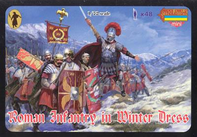 M038 - Roman Infantry in Winter Dress 1/72