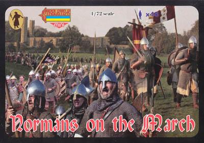 M039 - Normans on the March 1/72