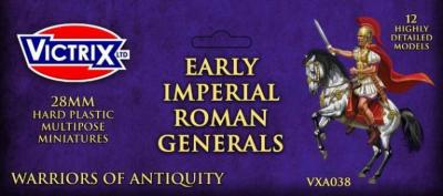 VXA038  28mm EARLY IMP ROMAN GENERALS