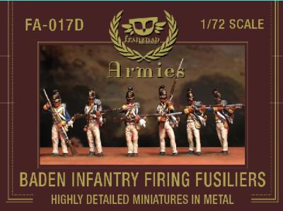 FA-017D Baden Fusiliers Firing 1/72