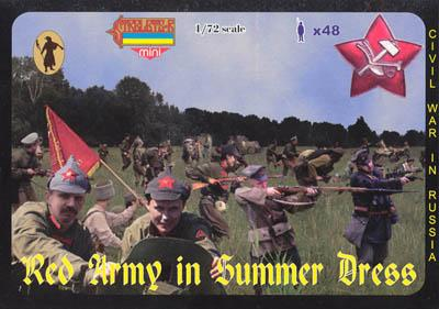 M045 - Red Army in Summer Dress 1/72