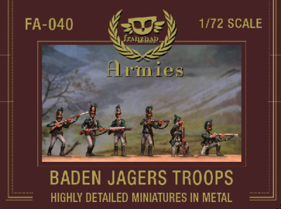 FA-040 - Baden Jagers Troops 1/72