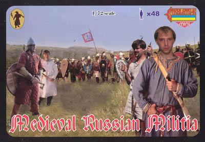 M048 - Medieval Russian Militia 1/72