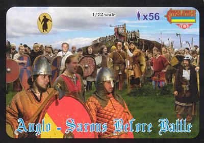 M050 - Anglo-Saxons Before Battle 1/72