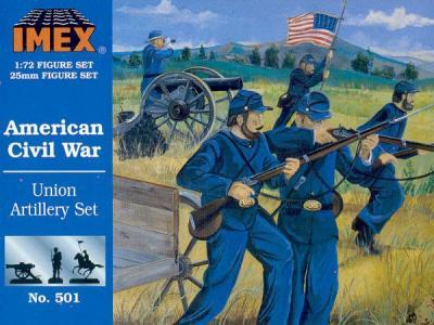 501 - Union Artillery 1/72