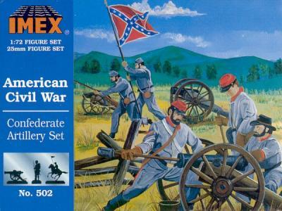 502 - Confederate Artillery 1/72