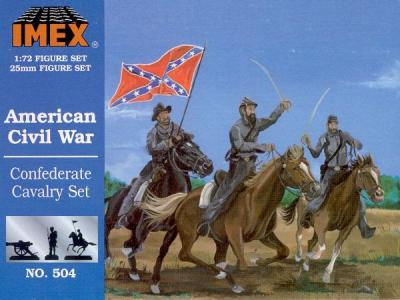 504 - Confederate Cavalry 1/72