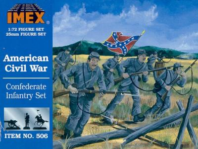 506 - Confederate Infantry 1/72