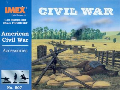 507 - Civil War Accessories 1/72