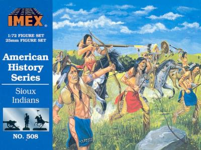 508 - Sioux Indians 1/72
